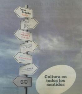Publicidad de Málaga en FITUR