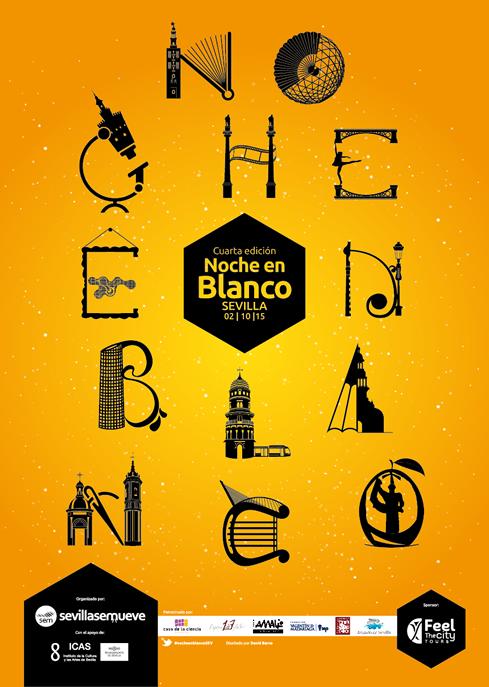 Cartel Noche en Blanco 2015