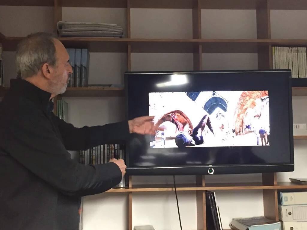 Vázquez Consuegra expone su proyecto para Atarazanas