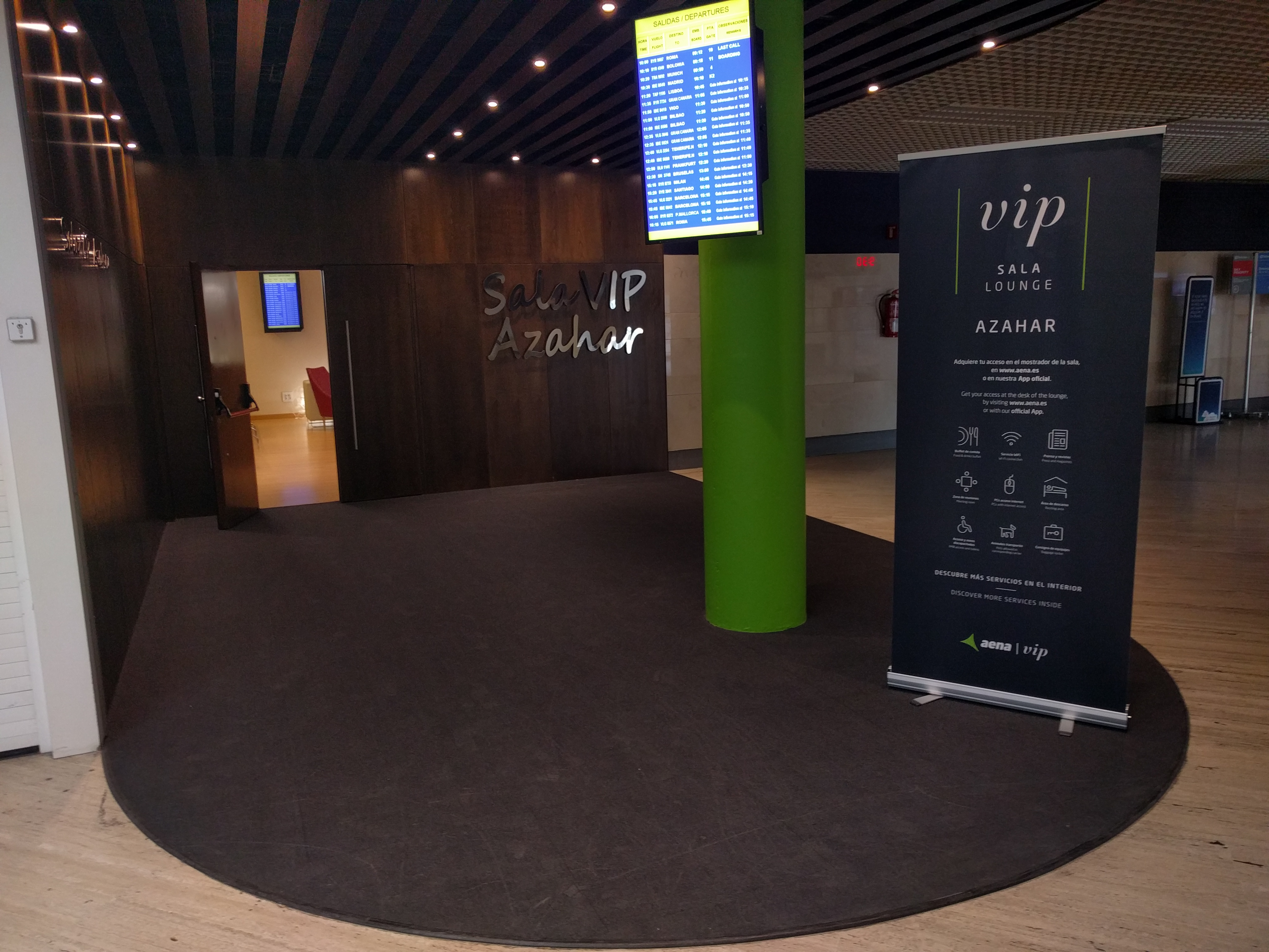 Sala VIP Aeropuerto de Sevilla
