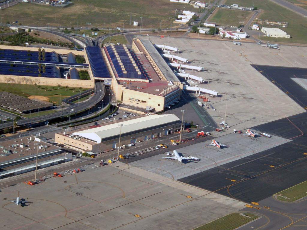 Aeropuerto de Sevilla - vista aérea
