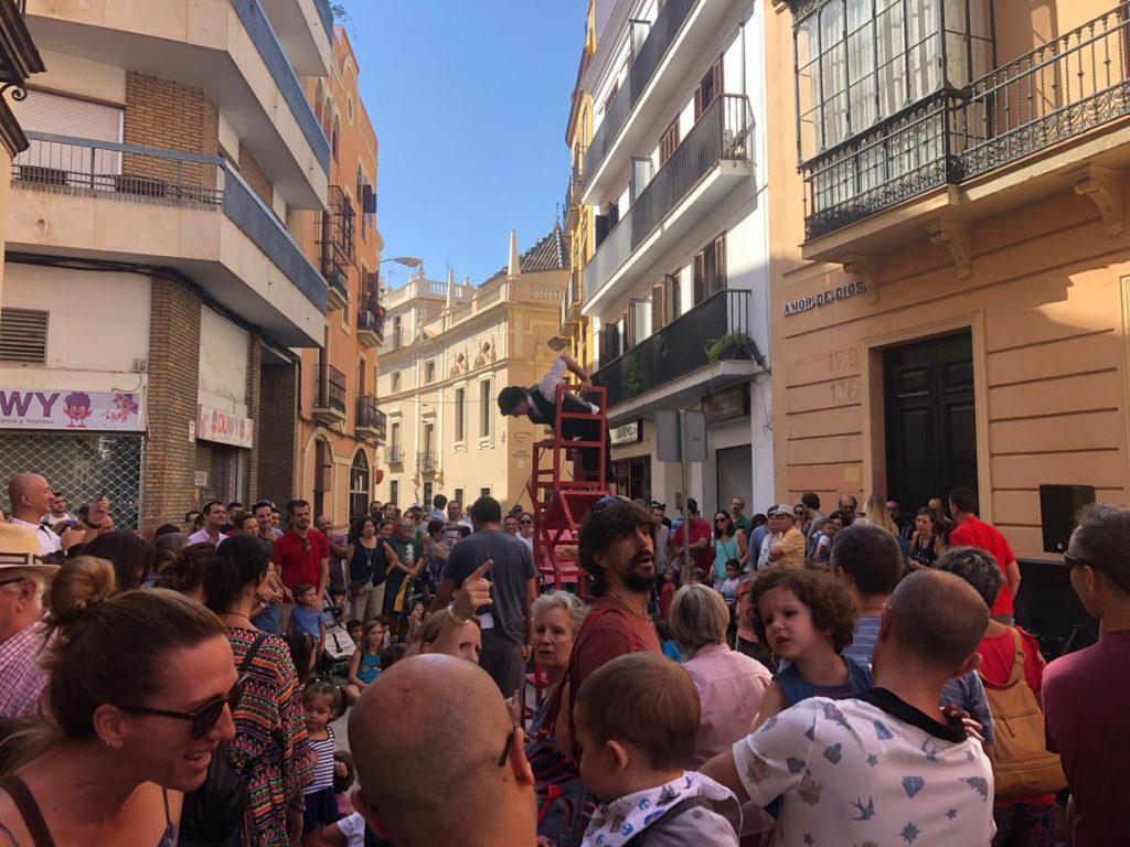 Día sin coche en Sevilla