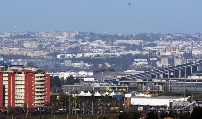 Vista del área metropolitana de Sevilla (Foto: El Correo de Andalucía)