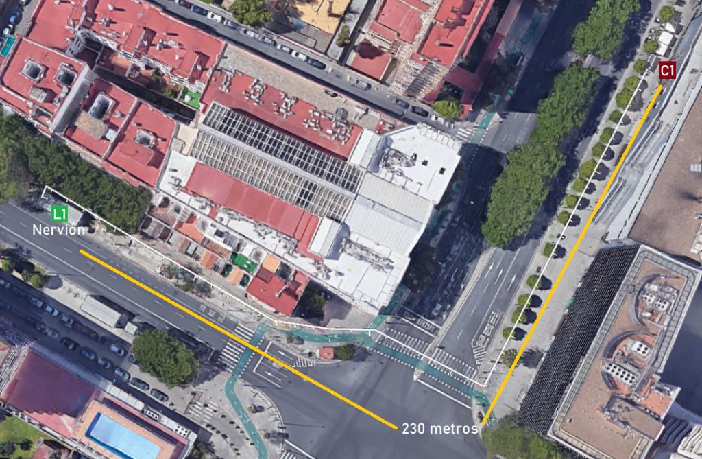 Diseñar salidas adicionales, además, permite no solo reducir transbordos en superficie sino aumentar la accesibilidad de las estaciones en los barrios, contrarrestando la separación entre estaciones, que es superior en metro que en los autobuses, lo cual permite altas velocidades comerciales.